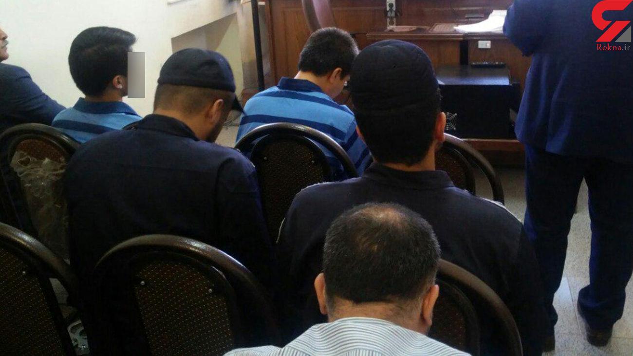 دزدی های سریالی در شمال تهران / تبهکاران دستگاه پوز بانک همراه داشتند ! + عکس