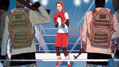شکنجه های این دختر 17 ساله به دست داعش از وی یک بوکسور ساخت