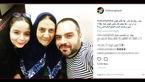 بازیگر مرد معروف درکنار مادر و دخترش + عکس
