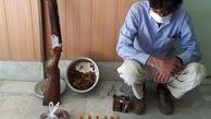 دستگیری شکارچیان غیرمجاز/ لاشه یک راس قوچ وحشی کشف شد