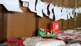 نامه عجیب یک دانش آموز برای زلزله + عکس
