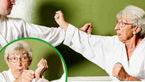 این مادربزرگ کاراته باز است + تصویر
