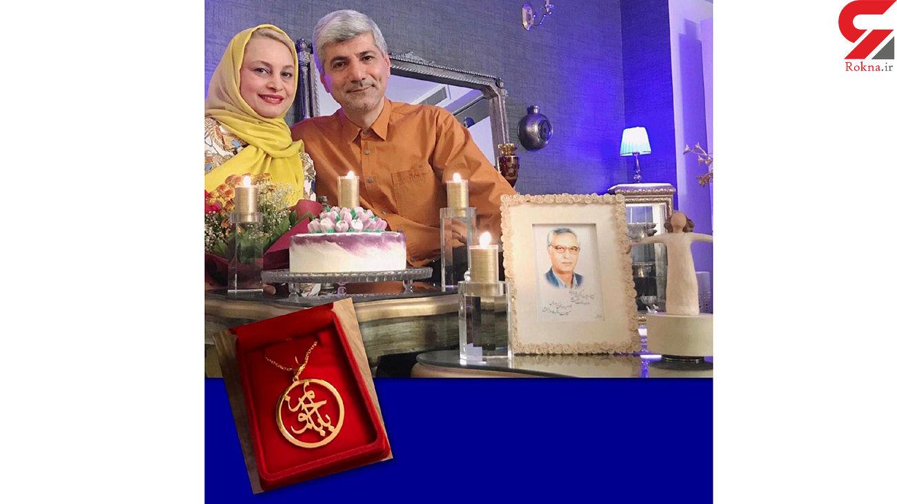انتشار عکس تولد مریم کاویانی در کنار همسر دولتمردش