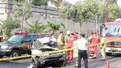یک کشته و دو مصدوم در تصادف پراید و کامیون