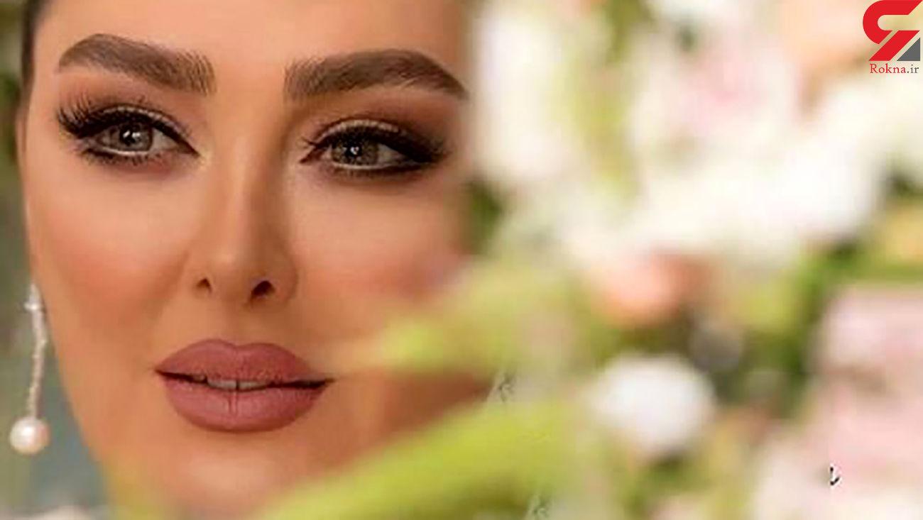 میکاپ شیک و زیبای الهام حمیدی + عکس