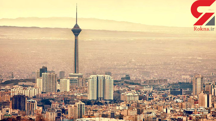 هوای تهران در وضعیت سالم قرار دارد