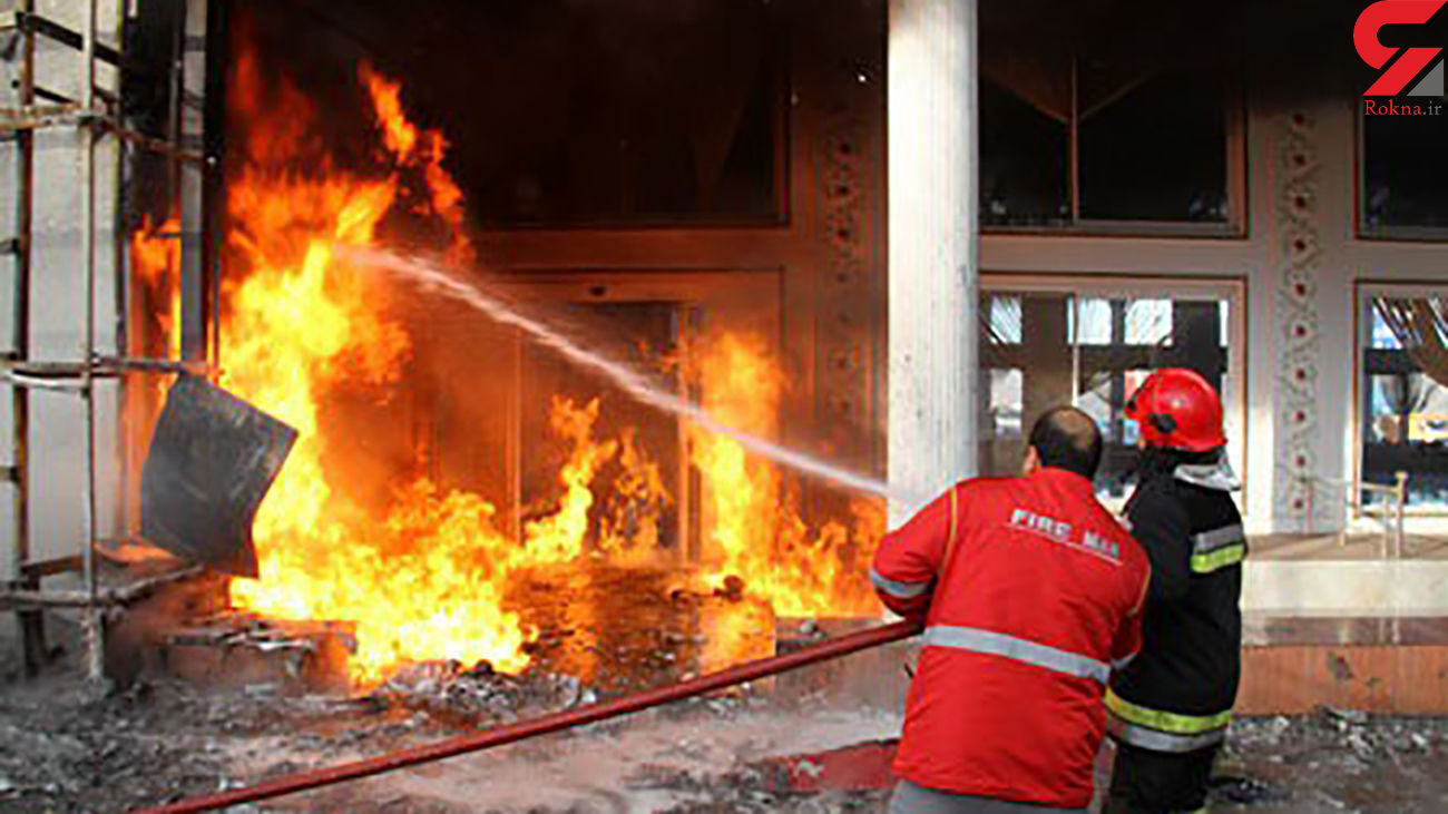 زنده زنده سوختن مرد دلگانی در انفجار گاز