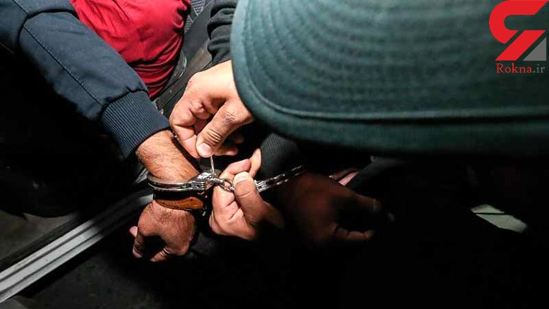 دستبند پلیس بر دستان سارقان حرفهای در مهران