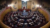 رئیسی و طائب در جمع نمایندگان مجلس خبرگان سخنرانی می کنند