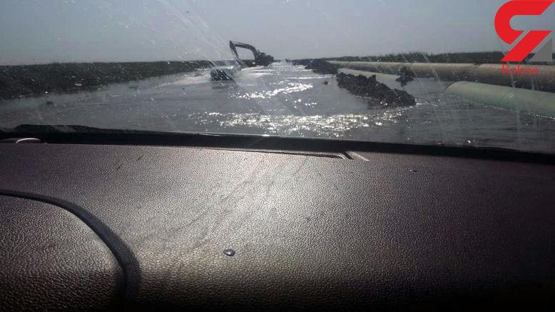 خطرناکترین جاده امروز ایران! / اینجا نیایید! +عکس