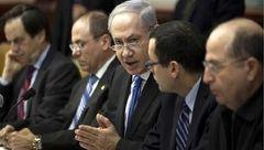 درگیری لفظی شدید بین اعضای کابینه اسرائیل