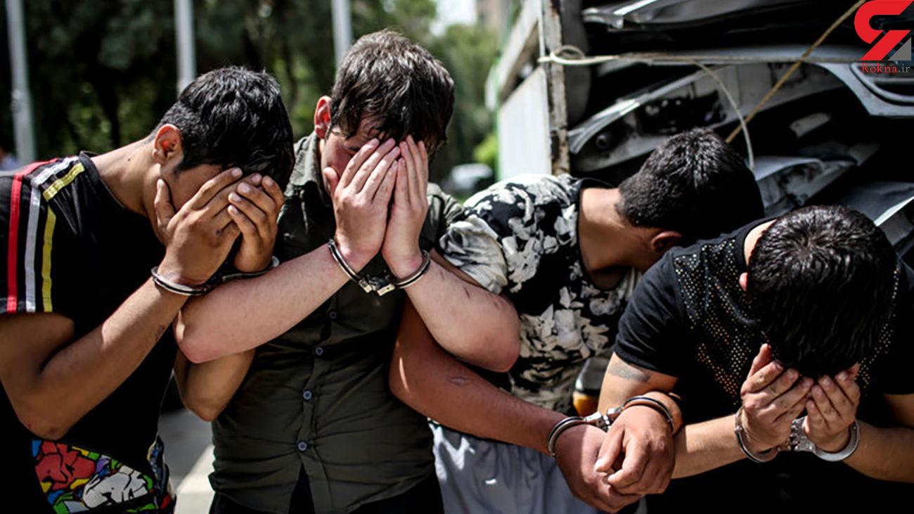 بازداشت 11 شیطان خیابانی در مشهد / زنان و دختران جوان در امان نبودند