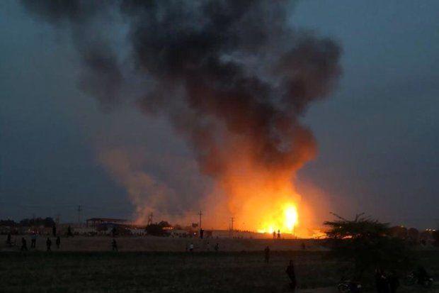 انفجار بزرگ در شیراز / همه وحشت زده شدند