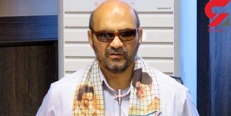 رئیس هیات نابینایان از ساختمان ۵ طبقه سقوط کرد/محمود باقرزاده را می شناسید؟+عکس