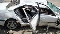 یک کشته و 2 مجروح در  واژگونی پژو پارس / در جهرم رخ داد