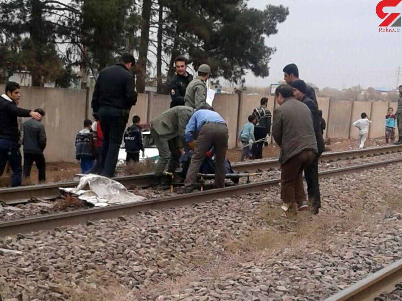 قطار دختر نوجوان تهرانی را له کرد / ساعتی پیش رخ داد + عکس