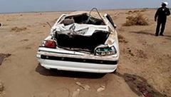 فاجعه ای تلخ / تصادف وحشتناک خودروی حامل دانش آموزان کرمان