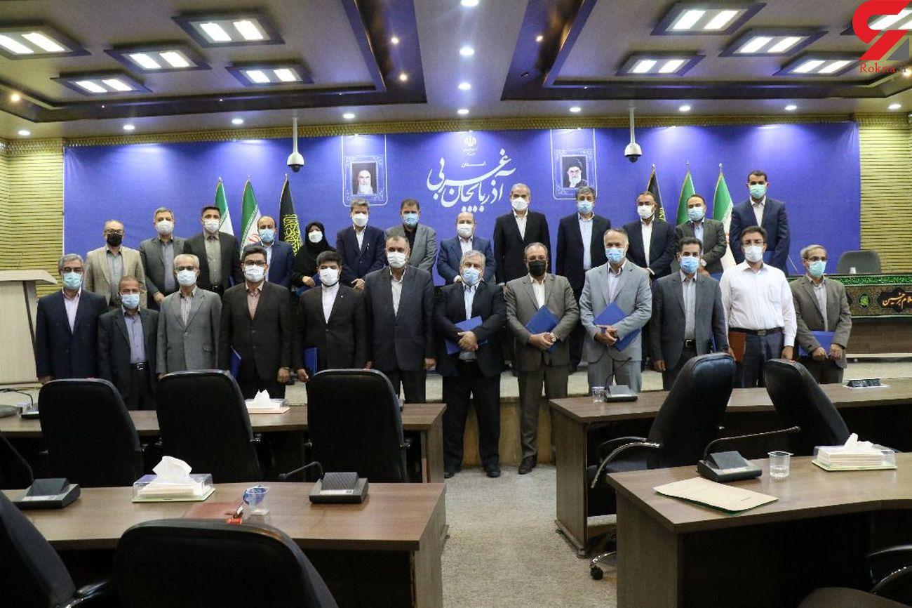 کسب مقام سوم شرکت توزیع نیروی برق آذربایجان غربی درجشنواره شهید رجایی
