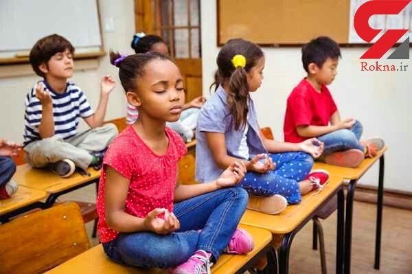 دانشآموزان خشن با یوگا و تن آرامی به آرامش می رسند