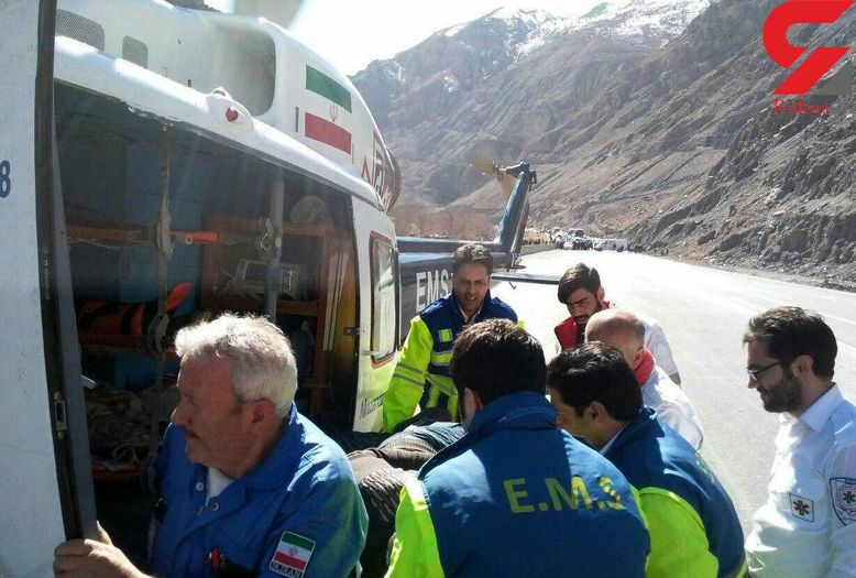 ریزش مرگبار کوه در هراز + عکس