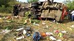 ۵۱ کشته بر اثر واژگون شدن اتوبوس در غرب کنیا