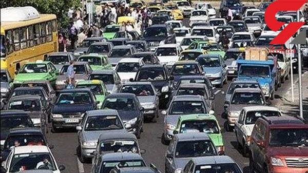 گزارش از آخرین وضعیت ترافیک بزرگراه های تهران