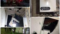 انفجار پکیج دیواری در مشهد + عکس