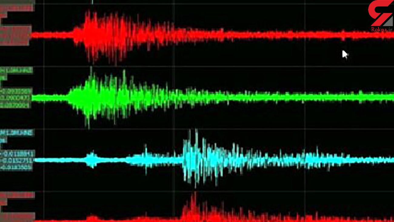زلزله دیلمان را لرزاند