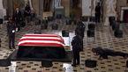 اتفاق عجیب در خاکسپاری قاضی برجسته + فیلم و عکس / امریکا