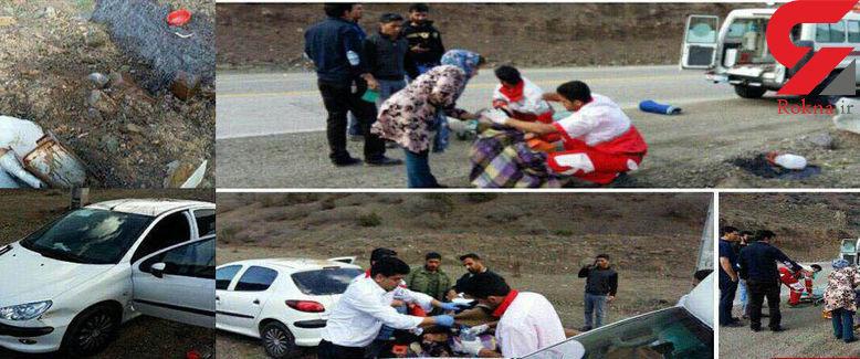 اسید پاشی به زن جوان گلستانی در «خوش ییلاق» + عکس لحظه حادثه