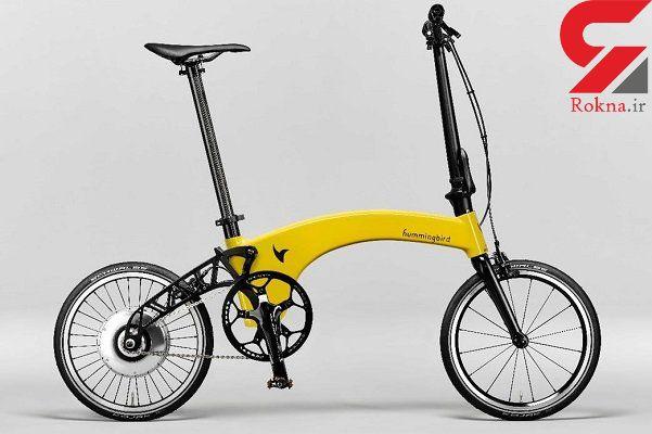 سبک ترین دوچرخه برقی تاشوی دنیا ساخته شد