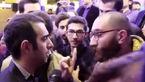 درگیری لفظی شدید پولاد کیمیایی با یک خبرنگار پس از نشست خبری+فیلم