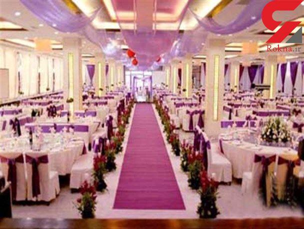 خرج یک شب تالار برای عروسی چند؟