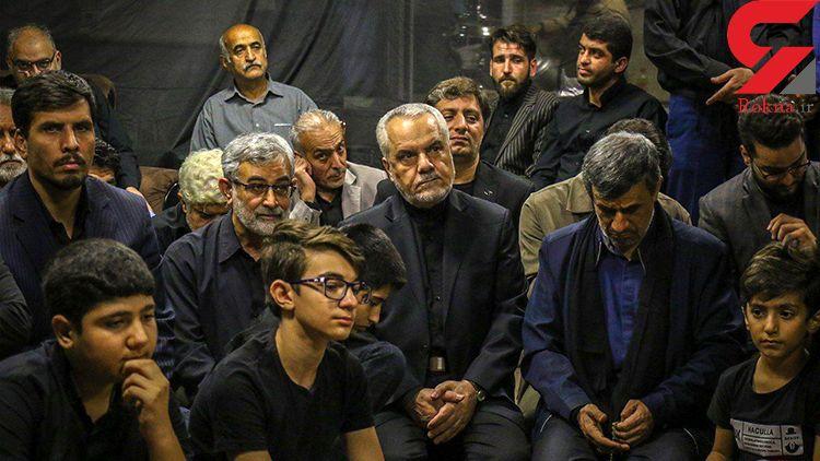 عکس / اولین دیدار احمدینژاد و معاون اولش پس از زندانی و آزاد شدن رحیمی