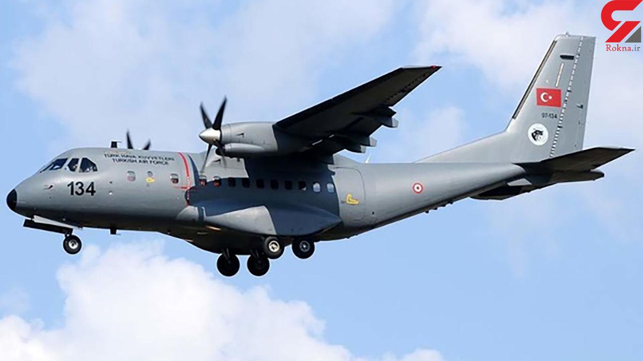 سقوط یک هواپیمای شناسایی در استان وان ترکیه