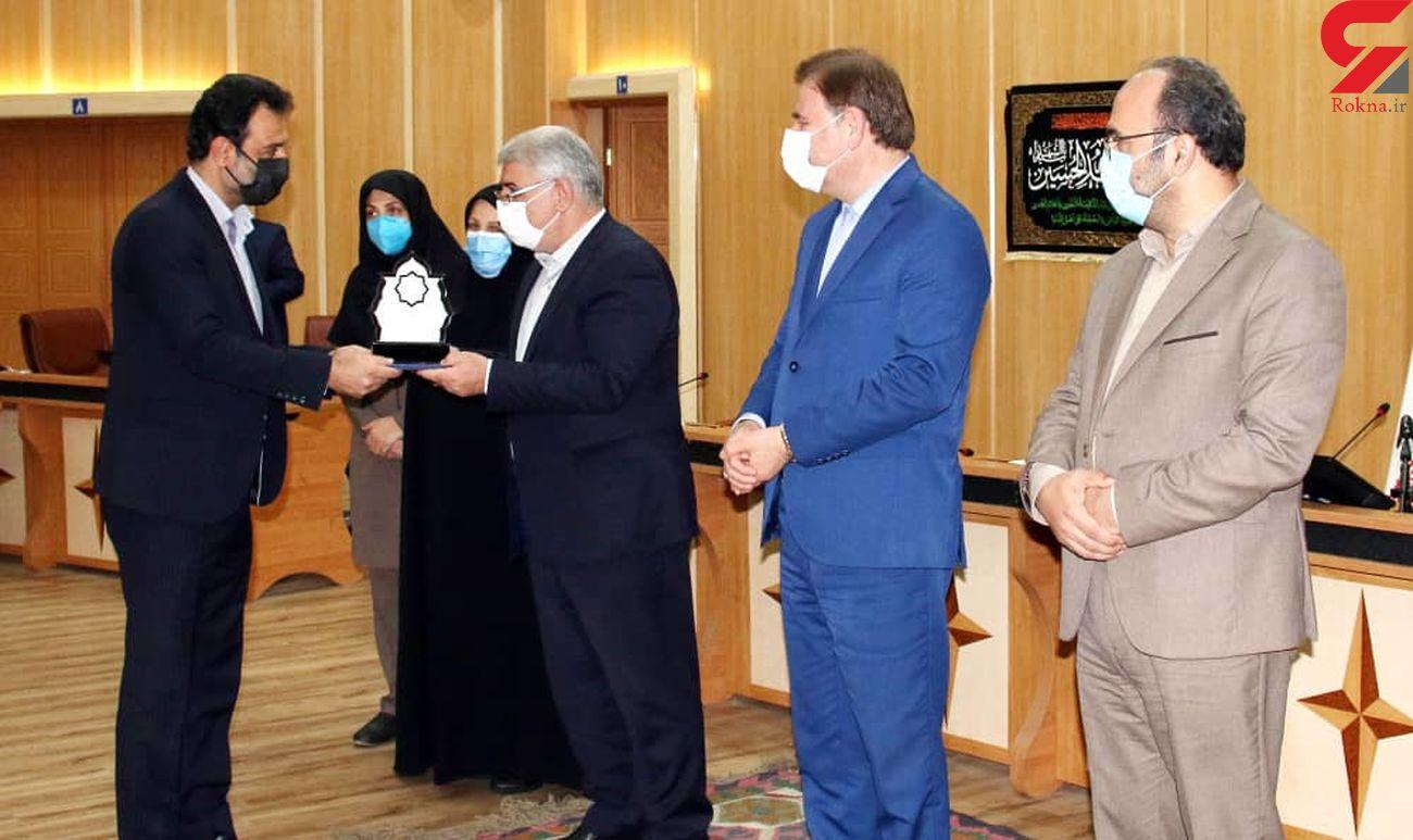 شرکت برق منطقه ای گیلان به عنوان دستگاه برگزیده(جشنواره شهید رجایی)انتخاب شد