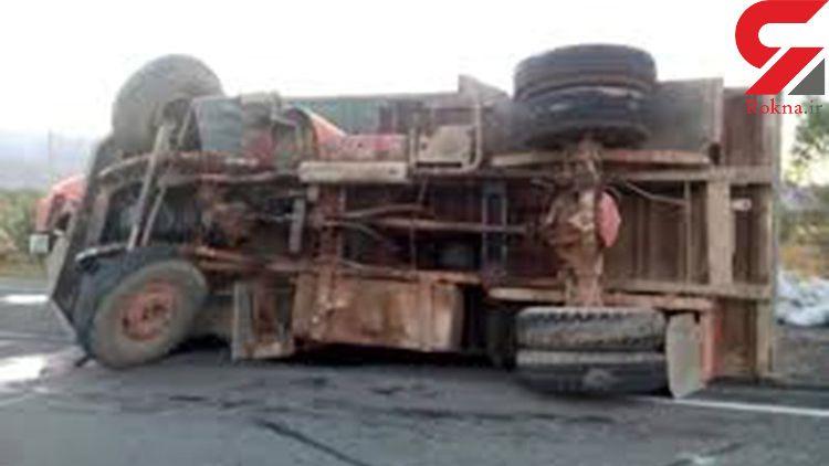 واژگونی خودرو دراهواز پنج مصدوم برجا گذاشت