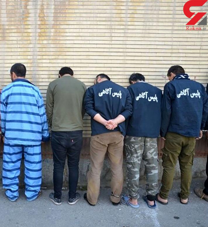 دستگیری باند جاعلان اسناد در تهران
