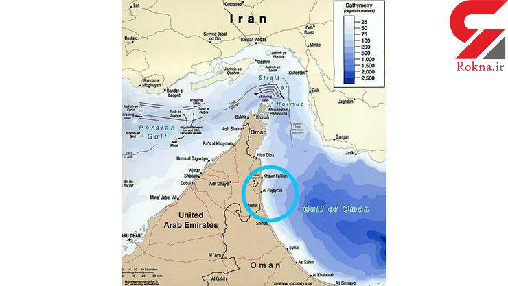 وحشت در امارات! / انفجار سکوی نفتی و 10 نفتکش  + جزییات