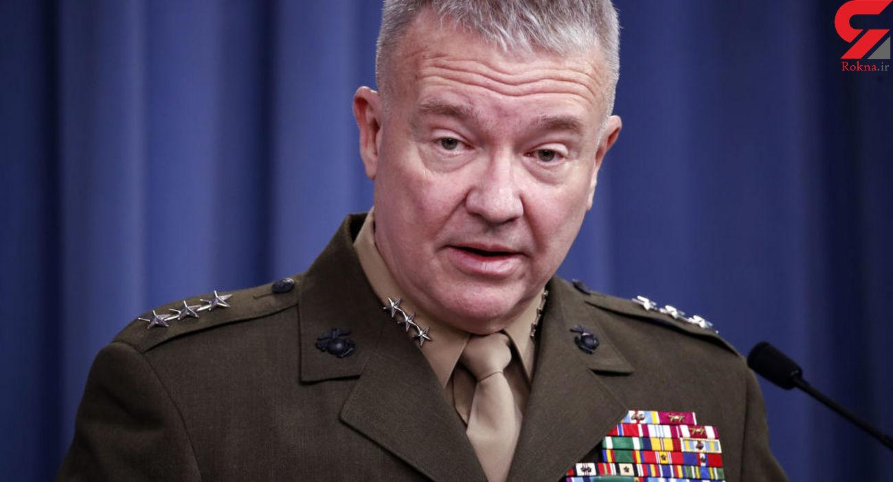 ترس در چهره و صحبت های ژنرال آمریکایی از انتقام خون سردار سلیمانی