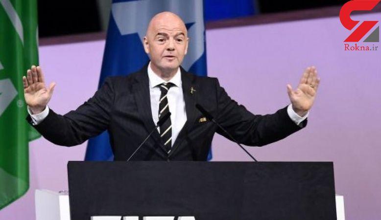 اینفانتینو برای دومین دوره به عنوان رئیس فیفا انتخاب شد