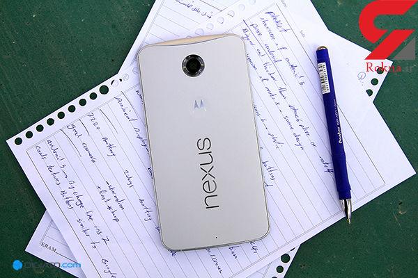 ماه عسل اندروید 7.0 نوقا با موبایل نکسوس 6