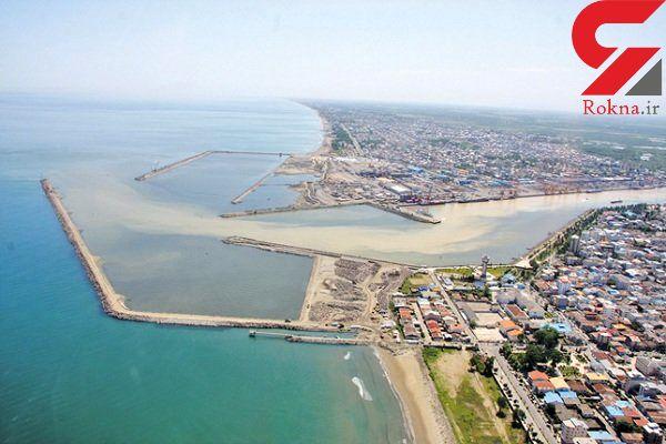 بندر کاسپین به عنوان مرز دریایی شناخته شد