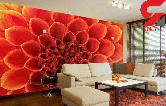 زیباسازی دیوار های خانه با پوستر های سه بعدی