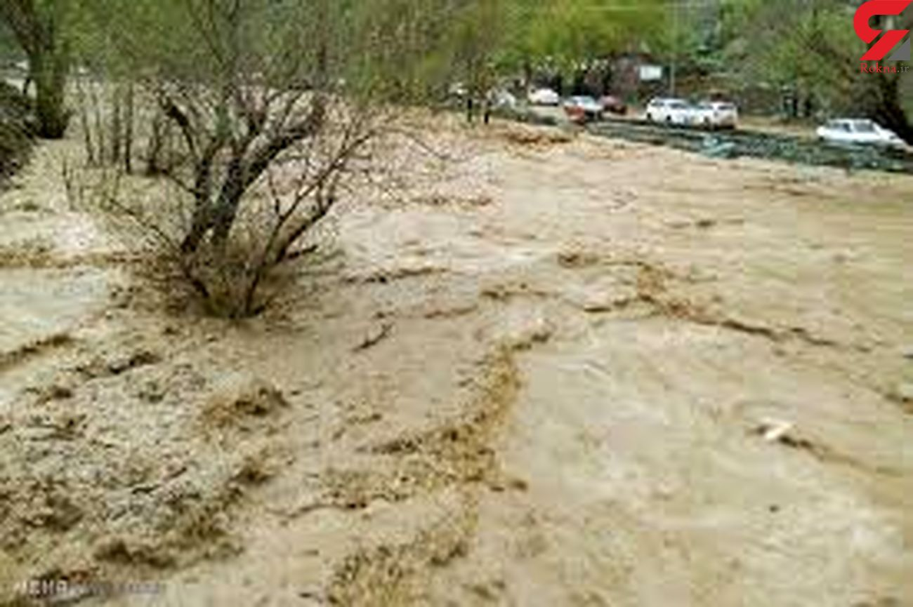 احتمال وقوع سیلاب و بارش تگرگ در بیشتر مناطق هرمزگان/ مواج شدن دریا