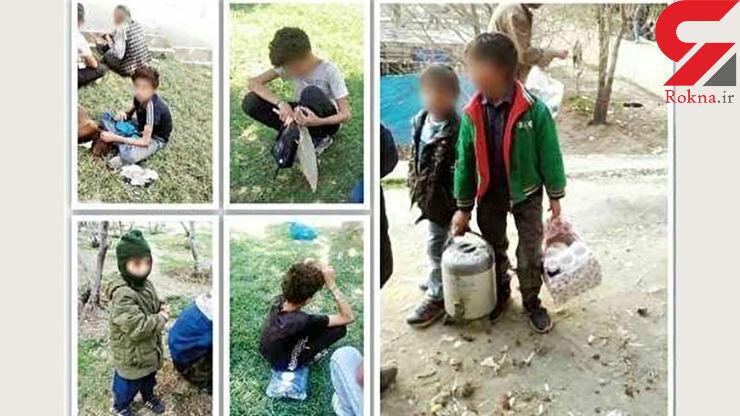 محلهای در تهران که به کودکان مشروب و مواد میدهند تا مثل خروس با هم بجنگند!+ عکس