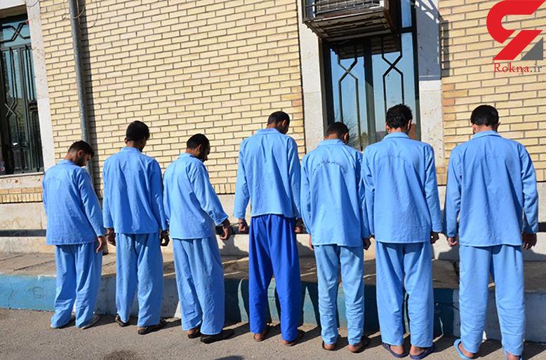 دستگیری ۱۲ سارق حرفهای با ۳۱ فقره انواع سرقت / در خرمشهر رخ داد