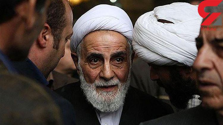چرا ناطق، مراسم افطاری با حضور احمدی نژاد را ترک کرد؟
