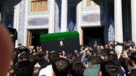 مراسم تشییع و خاکسپاری آیتالله هاشمیشاهرودی در قم +عکس