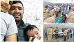 آخرین سلفی مرد جویباری با همسر و 2 فرزندش / هر 4 عضو این خانواده داخل خودرو پس از سقوط به کانال آب غرق شدند+عکس